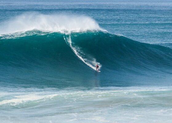 Andrew Cotton surfing - Credit Josh Simpson